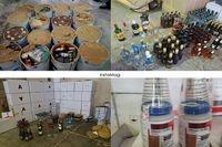 کشف ۱۰۰تن آرد قاچاق و ۲۵۵بطری مشروبات الکلی