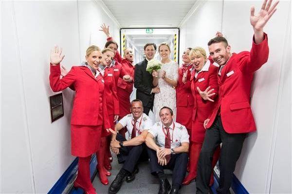 خواستگاری در هواپیما
