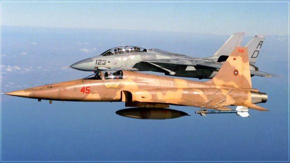 جنگندههای ارتش ایران به پرواز درآمدند!