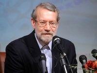 پیام تبریک علی لاریجانی به روحانی