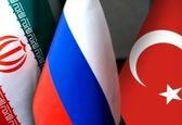 برگزاری نشست سه جانبه ترکیه، ایران و روسیه در سوچی