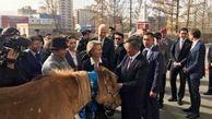 هدیه جالب مغولها به وزیر دفاع آلمان +عکس