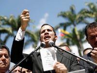 رهبر مخالفان ونزوئلا خود را رئیس جمهور خواند