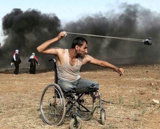 جوان ۲۹ساله فلسطینی که تصویرش دنیا را تکان داد