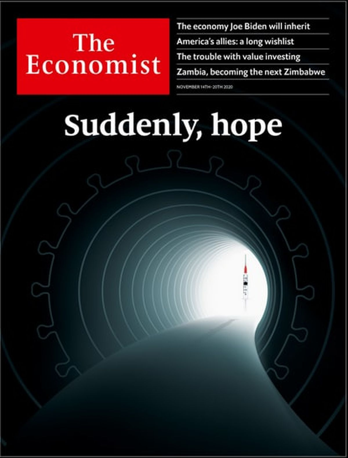 واکسن جدید کرونا؛ روی جلد اکونومیست