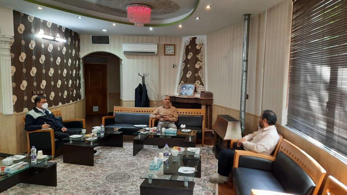 دیدار مدیرعامل ذوب آهن اصفهان و نماینده مردم شهرستان لنجان در مجلس