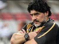 مارادونا در امارات نقره داغ شد