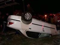 فوت ۴نفر در حادثهی واژگونی سمند