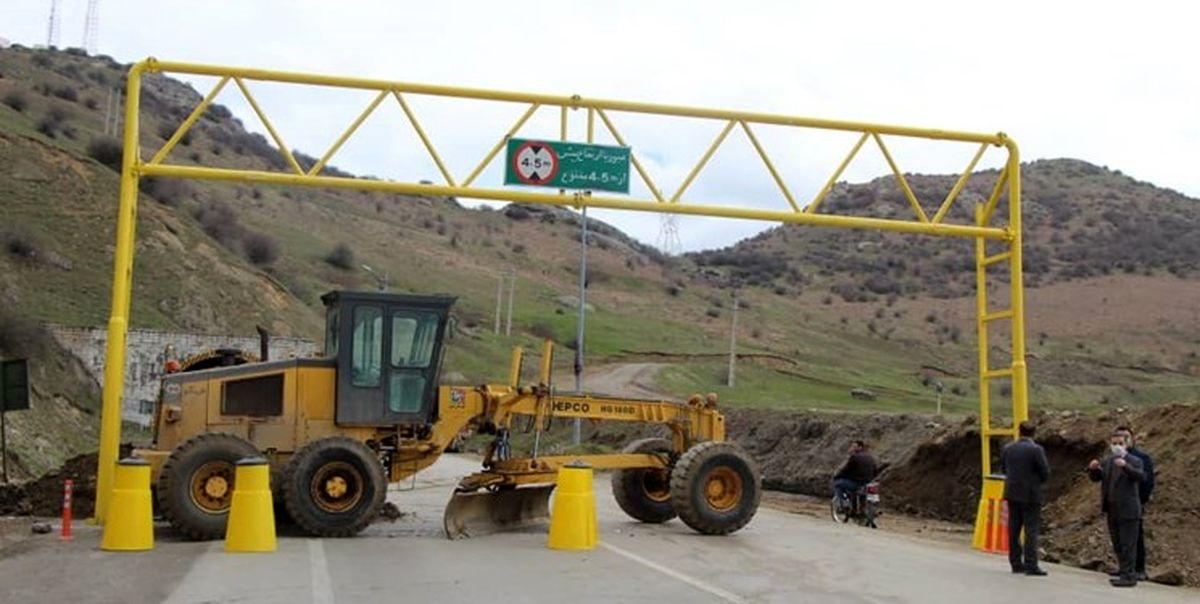 ممنوعیت تردد کامیون در هراز