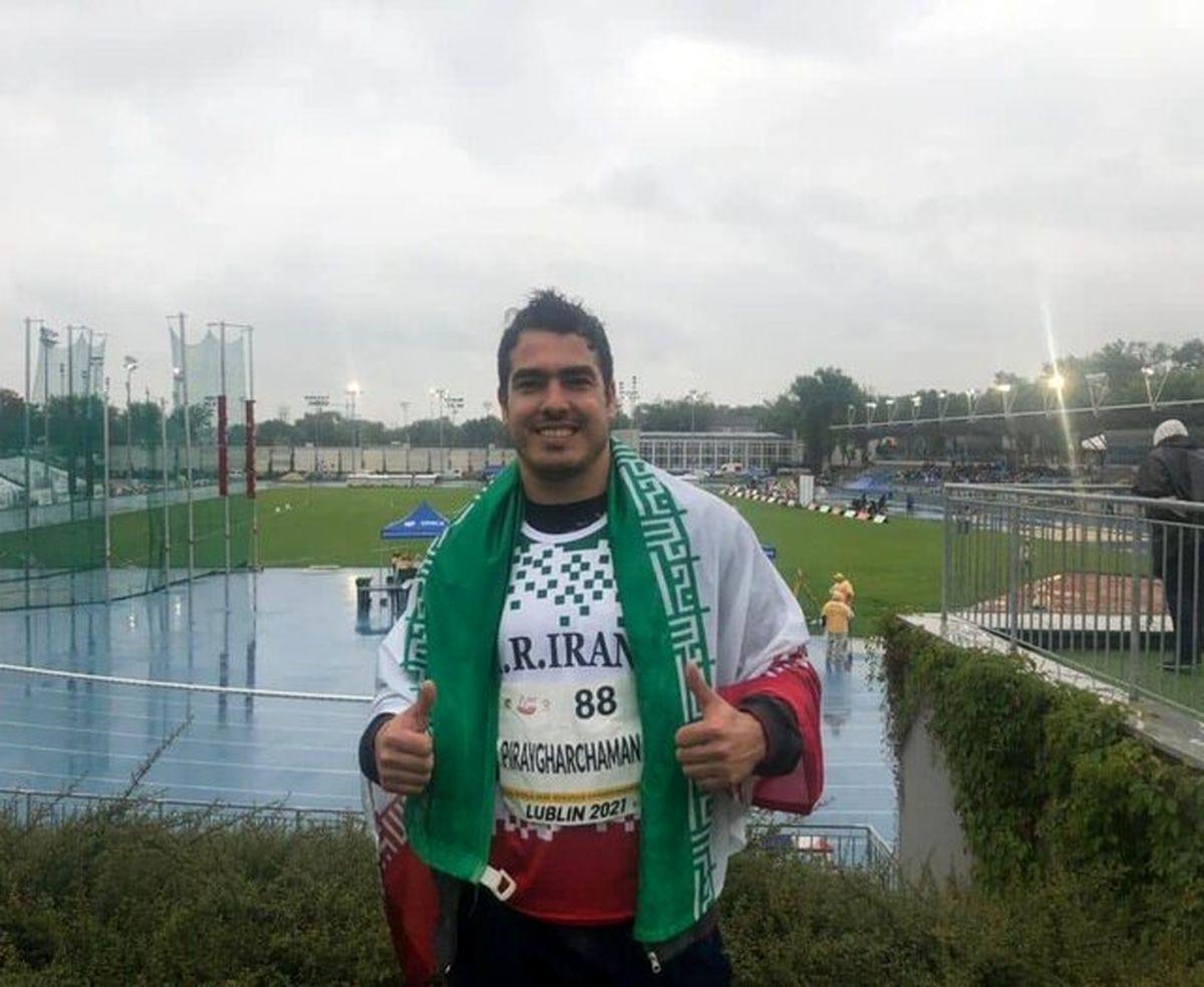 کسب مدال طلا توسط دوومیدانی کار ناشنوا در قهرمانی جهان