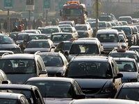 ترافیک محورهای مواصلاتی مشهد مقدس، پرحجم و روان است