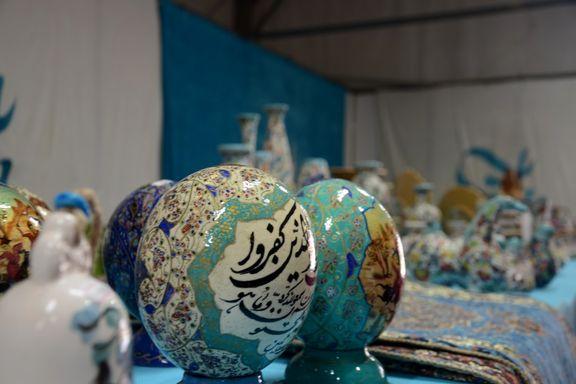 چینیها و هندیها بازار صنایع دستی ایران را تسخیر کردند