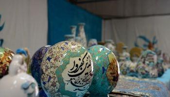 استقبال کربلاییها از جشنواره صنایع دستی بانوان ایرانی