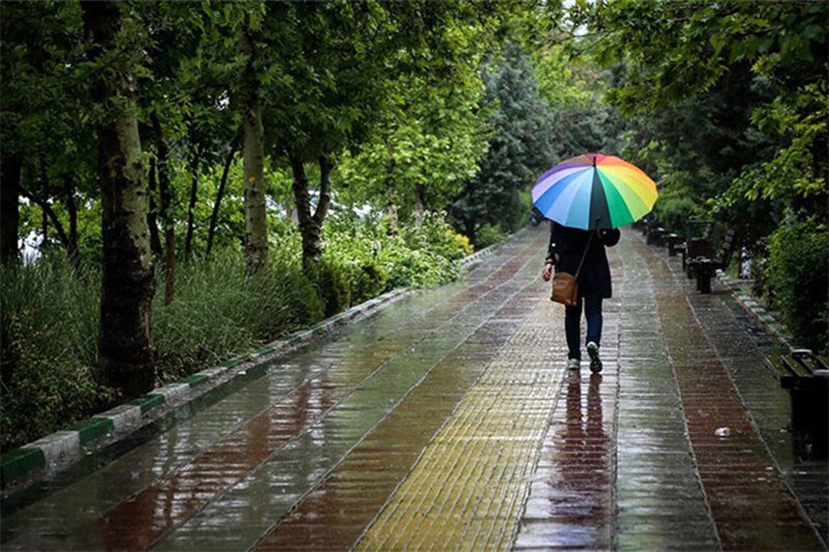 بارشها در پایتخت تا دوشنبه ادامه دارد