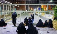 احیای شب بیست و سوم ماه رمضان در مشهد +تصاویر