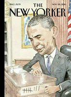طرح روی جلد شماره جدید مجله نیویورکر +عکس