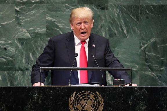 ترامپ: با موضوع ایران به سازمان ملل میروم