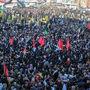 تصاویر هوایی بهتآور از حضور میلیونی کرمانیها