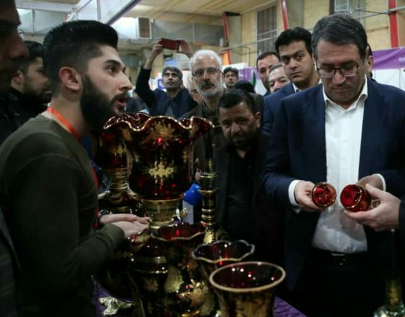 بازدید وزیر صمت از نمایشگاه ربع رشیدی( رینوتکس ۲۰۱۹) در تبریز