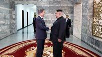 دیدار سران کره جنوبی و کره شمالی +تصاویر