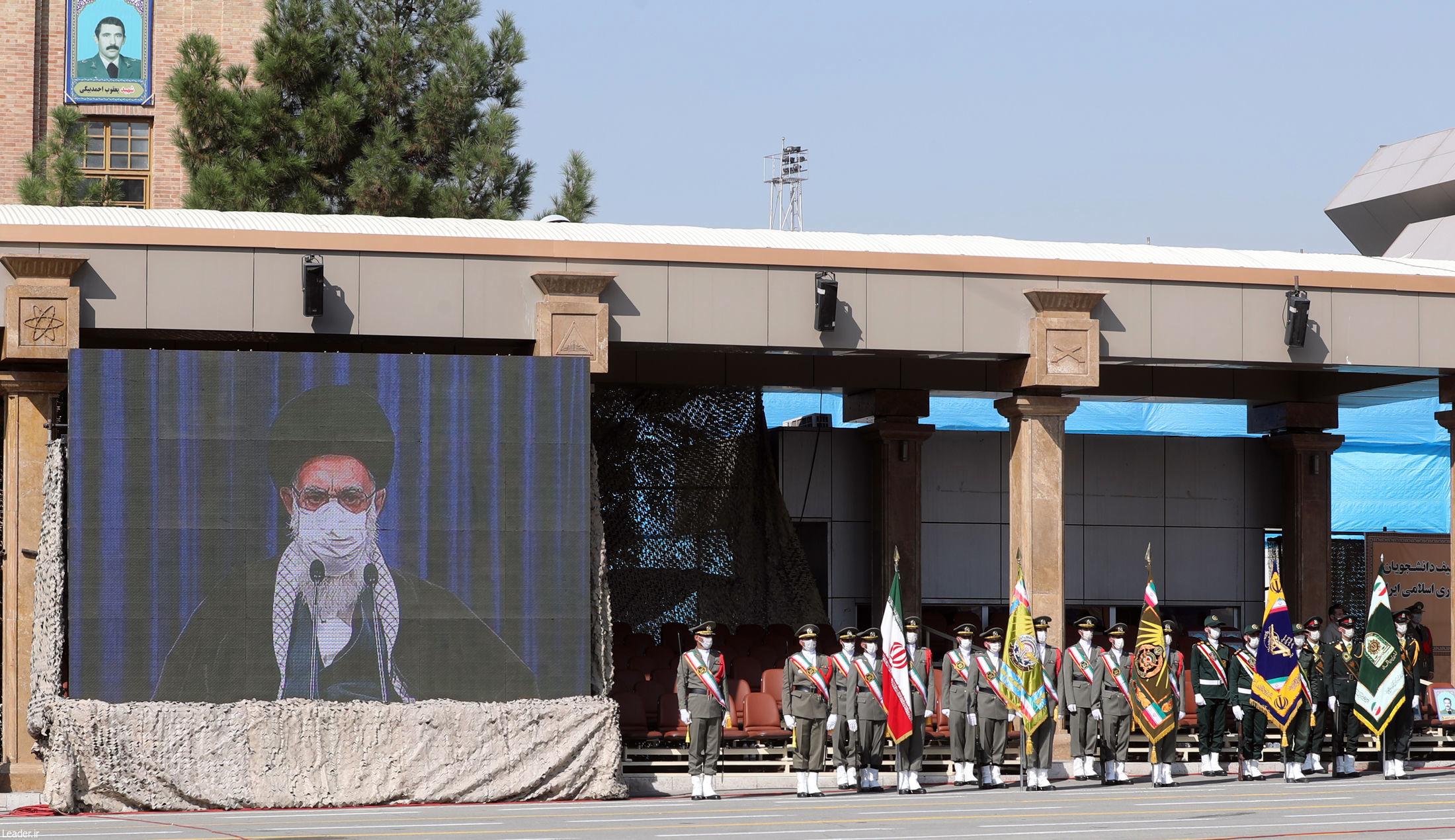 مراسم دانشآموختگی دانشجویان نیروهای مسلح