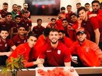 مراسم شب یلدا در اردوى تیم فوتبال امید
