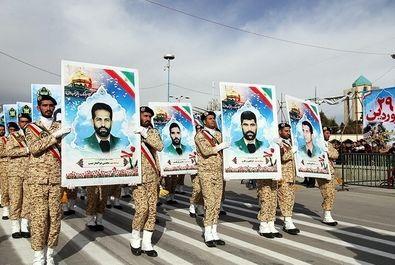 رژه ارتش در استان ها