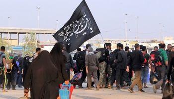 بازگشت زائرین اربعین از مرز مهران +تصاویر