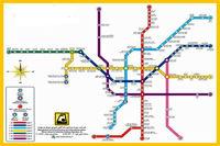 وجود اشکالات فاحش در نقشه های متروی تهران