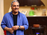 مهران مدیری با ظاهری متفاوت در جشن حافظ +فیلم