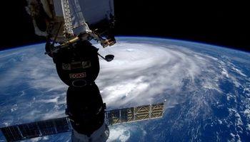 شدیدترین توفان دنیا از ایستگاه فضایی +عکس