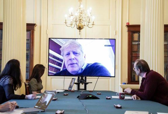 دفتر نخست وزیر انگلیس: وضعیت سلامتی جانسون پایدار است