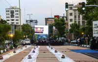 افطاری در میدان فرهنگ +تصاویر