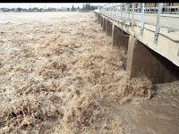 سوم آذر73 جاری شدن سیل در استان خوزستان +عکس