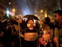 درگیری پلیس با معترضان مراکز تجاری هنگ کنگ را به تعطیلی کشاند