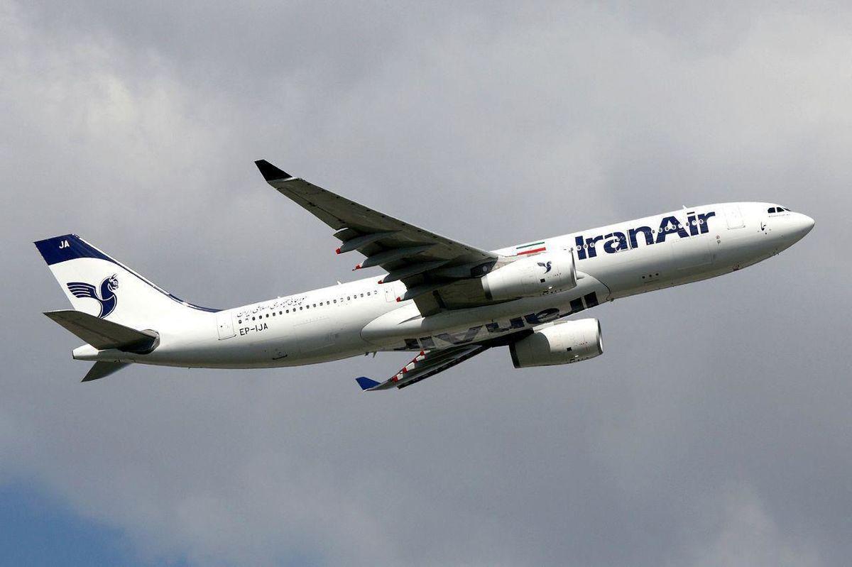 اولین پرواز ایران ایر به فرودگاه شارل دوگل پاریس