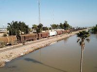 رسیدن سیل به روستاهای خرمشهر