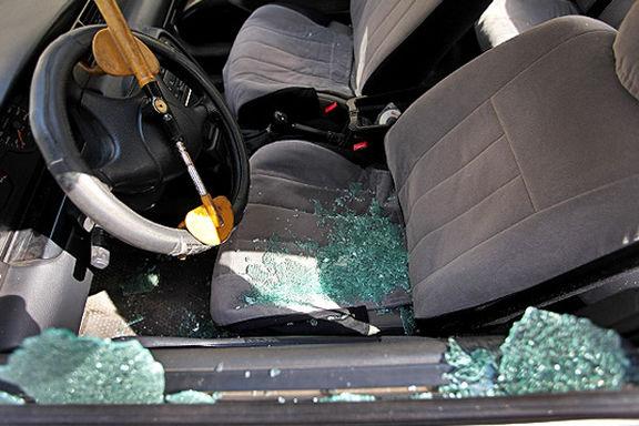 سرقت خودرو با سرنشین