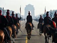 یک روز از زندگی محافظان رئیس جمهور هند +تصاویر