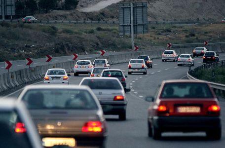 ترافیک درجاده های مازندران سنگین شد
