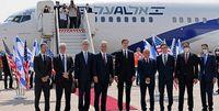 اولین پرواز رسمی مستقیم از تلآویو به ابوظبی برخاست