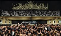 مراسم عزاداری عاشورای حسینی با حضور رهبر معظم انقلاب
