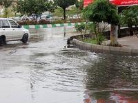 ادامه بارشها در کشور؛ آبگرفتگی معابر در مناطق جنوبی