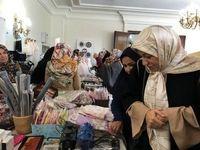 همسر ظریف در جشنواره غذا و صنایع دستی +عکس