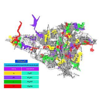 نقشه قطعیهای امروز برق تهران