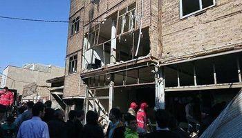 انفجار گاز در اسلامشهر ۱۲مصدوم برجا گذاشت