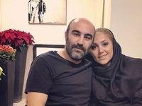 نقی معمولی و همسر واقعیاش +عکس