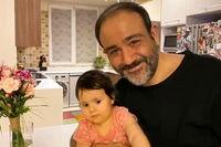 همسر و دختر مهران غفوریان + عکس