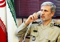تمجید وزیر دفاع ایران از وزیر دفاع سوریه