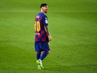 مسی در تمرین بارسلونا پا به توپ شد +عکس